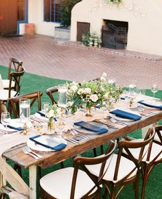 Hacienda del Sol Wedding Inspo with Blues and Greens