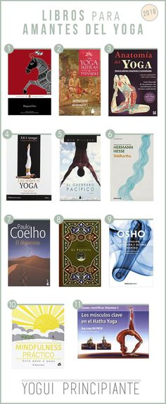 Los mejores libros para amantes del yoga. Haz click y encuentra todos los links! | YoguiPrincipiante.com