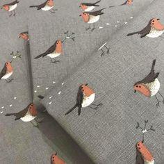 Last few half metres of the gorgeous Sophie Allport robin fabric.