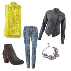 """""""What to wear with Grids"""" by kirsten-dolan on Polyvore featuring CAbi and BP."""