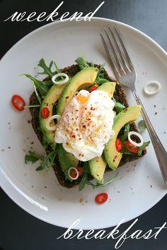 Poached Egg & Avocado Sandwich