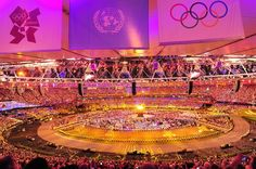 London Olympic Opening Ceremony - Slideshows | NBC Olympics  Wow, the world comes together!