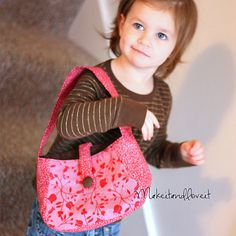 Image of Girl's Purse PDF Sewing Pattern