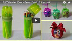 10 Tipps, was du aus Plastikflaschen basteln kannst - Aus Müll Mehrwert machen – | ||| | || CODECHECK.INFO