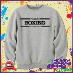 Boxing is a Way of Life Sports Mens Sweatshirt Gift Idea  Our Price: £19.97