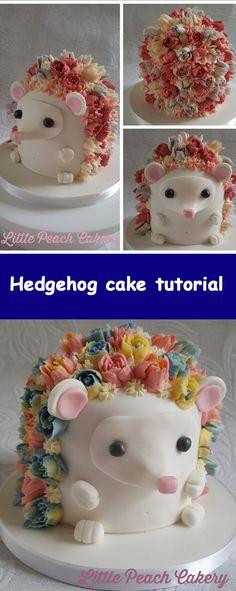 Hedgehog Cupcake, Sonic The Hedgehog Cake, Hedgehog Birthday, Best Cookie Recipes, Cupcake Recipes, Cupcake Cakes, Nutella Creme, Sloth Cakes, Chicken Cake