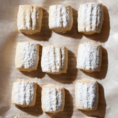 Butter Cookies with Clove Sugar | Kantin Dükkan chef Semsa Denizsel's crumbly cookies are lightly flavored with the ground cloves she mixes into the confectioners' sugar coating. Clarified butter in the cookies makes them extracrisp.