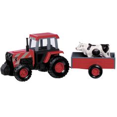 Tractor with Farm Wagon 8inch