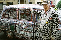 Alf Dole, a descendant of the first Pearly of St Pancras, raised thousands of pounds for Great Ormond Street Hospital over the years, starting in the 1980s. Read more about Alf and the Pearly King legacy: http://blog.gosh.org/our-charity/pearly-king-alf-dole/ #GOSHistory