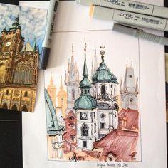 """263 Me gusta, 3 comentarios - Anastasia Bortnikova (@bortik192) en Instagram: """"Нет времени на рисование новых, так пусть хоть старая картинка порадует меня и вас. А я пошла…"""""""