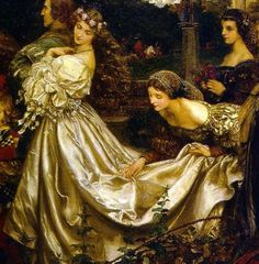 PreRaphaelite wedding