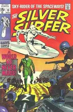Silver Surfer Vol 1 10
