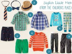 Stylish Little Men: The Childrens Place | A Series of Beginnings