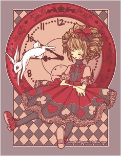 Follow me. Said the Rabbit. by MoogleGurl.deviantart.com on @deviantART