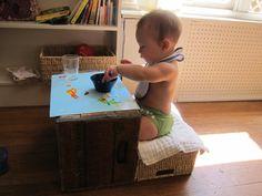 Montessori idea for baby