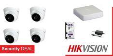 4 κάμερες παρακολούθησης HIKVISION DS-2CE56D0T-IT3F τύπου DOME εσωτερικού/εξωτερικού χώρου  Καταγραφικό HIKVISION DS-7104HGHI-F1 4 εισόδων βίντεο και 1 είσοδο ήχου  2 Τροφοδοτικά καμερών PULSAR  Σκληρό δίσκο WD 1 Tb χωρητικότητας Binoculars