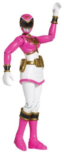 Power Rangers Megaforce Normal Pink Ranger by Power Rangers. $12.90. Highly detailed 4 inch action figures. Collect them all. Each figure has a cool Megaforce style. Collect and combine the Rangers? unique battle gear together to create the ultimate tool to battle evil. From the Manufacturer                The Power Rangers are ready for action as highly detailed 4 inch action figures. Each figure has a cool Megaforce style, as seen in the TV series, making it sta...