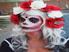 25 Breathtaking Sugar Skull Makeup Looks To Celebrate Dia De Los Muertos - Minq.com