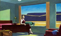 Edward Hopper (1882-1967)Western Motel (1957) oil on canvas 77,8 x 128,3 cm Yale University Art Gallery, Connecticut