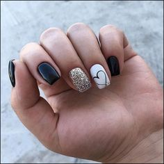 Stylish Winter Short Square Nail Designs To Copy This Season; - Stylish Winter Short Square Nail Designs To Copy This Season; Cute Acrylic Nails, Acrylic Nail Designs, Cute Nails, Pretty Nails, Nail Art Designs, Nails Design, Short Nails Acrylic, Square Acrylic Nails, Pedicure Designs