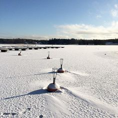 #sunshine #snow #ice #seaview #langvikhotel http://www.langvik.fi/