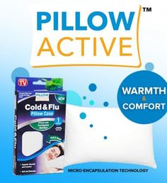Pillow Active is designed for superior warmth & comfort Perfect for the whole family during the cold & flu season.   Shop--->www.pillowactive.com   #AsSeenOnTV #Healthy #Family #Eucalyptus #Pillow #Active #FAMILY #WELLNESS #PILLOW #CASE #TOUGHPROTECTION