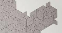 Cityscapes, Modular Felt Carpet Tiles, ALLT