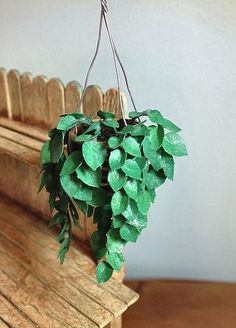 how to: hanging plant