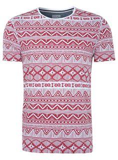Topman native print tshirt, Go To www.likegossip.com to get more Gossip News!