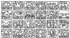 coloring-adult-keith-haring-4, From the gallery : Art