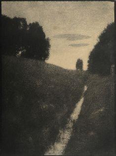 Heinrich Kühn, Dämmerung, 1896