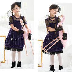 子供ドレス 魔女 発表会ドレス