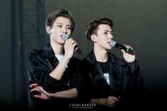 [HQ] 150308 CHANYEOL & SEHUN at EXO'LuXion in Seoul ©your breeze