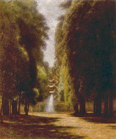 'Villa Torlonia in Frascati', Aleksander Gierymski