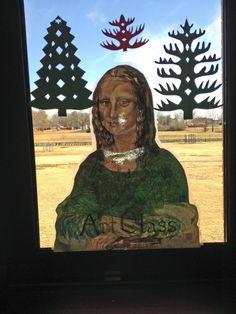 Art Room Door