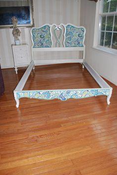 Vera Bradley Inspired Vintage bed