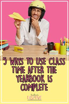 The yearbook is complete, submitted, done. Now what? You have several months of school left, and you aren't sure how to keep your students on task for the remaining days. Does this sound familiar? With spring delivery or even summer delivery books where students take yearbook/journalism as a class, it's often difficult — and even daunting — to come up with creative and constructive ways to use that time. In this blog post, I'll share 5 ways to use class time after the yearbook is complete.