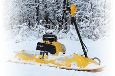 Mattracks Powerboard Allows You To Ride The Snow Like A Boss