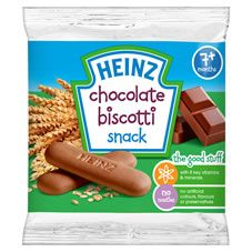 Shop for Heinz Biscotti Snack Chocolate at wilko - where we offer a range of home and leisure goods at great prices. Chocolate Babies, Best Chocolate, Chocolate Flavors, Baby Food Recipes, Gourmet Recipes, Snack Recipes, Snacks, Healthy Brain, Unique Recipes