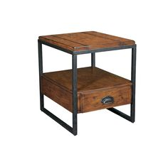 Hammary - Baja Rectangular Drawer End Table @Kellie Reitzel  and this is the side table I ordered!
