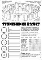 Stone and Bronze age Activity Sheet - © Nash Ford Publishing