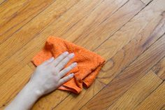 Residue from cleaning products like Mop and Glo can build up on your wood floor over time. This can cause discoloration of the wood and a cloudy appearance. Removing this residue is a simple but time-consuming project. With a few supplies and a whole lot of elbow grease, you can effectively remove cleaner residue from your wood floor.