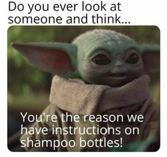 Funny Relatable Memes, Funny Facts, Funny Jokes, Hilarious, Yoda Funny, Yoda Meme, Really Funny, Funny Cute, The Funny