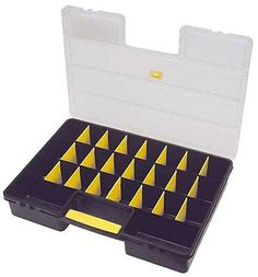 Deluxe Plastic Store-It-All Divided Box