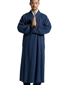 f90a929dd7b Katuo Buddhist Monk Robe Vintage Religion Gown Blue Sxxl M     Details can  be