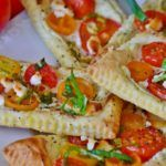 Tomato & Basil Mini Sandwiches  7 Mediterranean Diet Healthy Snack Foods – Simply Healthy Living  #mediterraneandiet #Healthy #healthyfood #healthyeating #healthylifestyle #healthyliving
