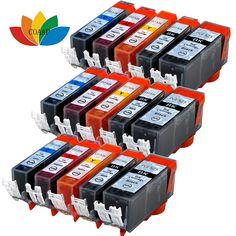 15 Compatible Printer ink Cartridges for Canon Pixma MG6150 MG5300 MG5350 MG8150 MG8250 MX885