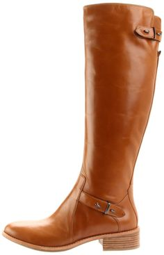 GUESS by Marciano Women's Tarla Riding Boot interesting details, brown $328.00