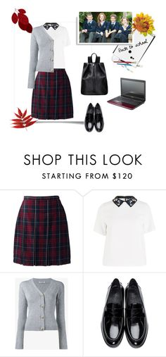 """""""Без названия #151"""" by s-igma ❤ liked on Polyvore featuring Lands' End, Sportmax, Miu Miu and Burberry"""