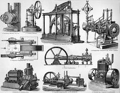 Illustration, Steam engine technology, 1894